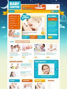 Baby Family Joomla Template