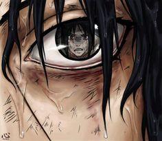 Sasuke in Itachi's eye's.
