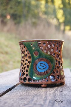 Z cizích světů... / Zboží prodejce Lajky | Fler.cz Incense Burner, Pots, Candle Holders, Candles, How To Make, Inspiration, Jewelry, Amor, Diy