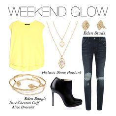 Stella & Dot - Weekend Glow #stelladot #stelladotstyle #womensfashion #spring #PolyvoreByXOKnot #Polyvore
