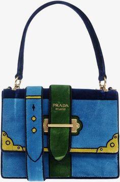 Prada Handbag Blue  ad Fashion handbag -- in fashion handbags, gc fashion  handbags d493a53366