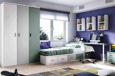 Dormitorio Juvenil Nido 4 contenedores N05 | Mueble Juvenil Valencia