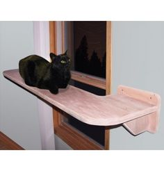 Modern Cat Furniture : Window Cat Walk Shelf
