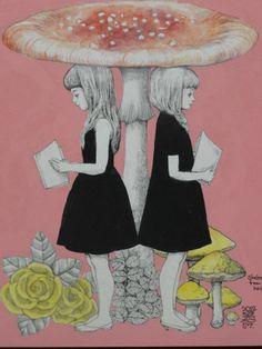 Yuko Higuchi illustrations