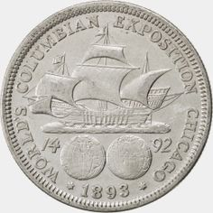 The first commemorative coin issued in the United States was the 1892 Columbian Half Dollar. The coin was issued to raise funds for the World's Columbian Exposition held in Chicago. The issuance of the first coin marked the 400th anniversary of the discovery of the New World by Christopher Columbus.