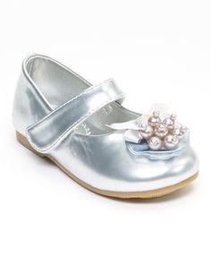 Look what I found on #zulily! Silver Elsa Mary Jane #zulilyfinds