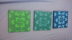 Prints of mine on cavas from this week/   סדרת הדפסים שלי על קנווס מהשבוע