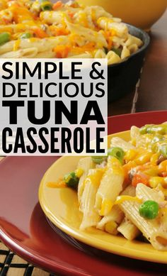 Fast tuna casserole taste of home full menus that feature your favorite ingredients. Tuna Casserole Recipes, Tuna Recipes, Seafood Recipes, Recipies, Kitchen Recipes, Cooking Recipes, Crockpot Recipes, Great Recipes, Rezepte