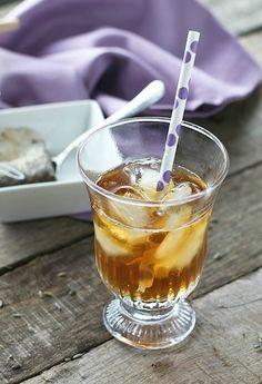 Lavender Iced Tea - FoodBabbles.com