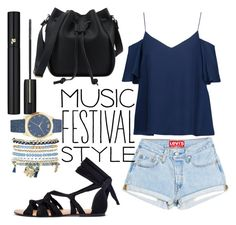 """""""Music Festival Style"""" by panda0805 ❤ liked on Polyvore featuring Haute Hippie, Lancôme and Mixit"""