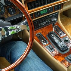 My Jaguar XJS on BBS RS and custom suspension