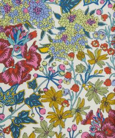 Pretty… maybe a bit too floral for the boy…. Liberty Art Fabrics Edna B Tana Lawn Cotton Liberty Art Fabrics, Liberty Print, Surface Pattern Design, Pattern Art, Motif Floral, Floral Prints, Textile Design, Fabric Design, Fabric Patterns