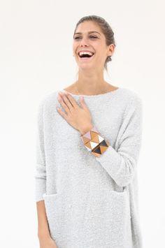 Lauren Manoogian Leather Braclets
