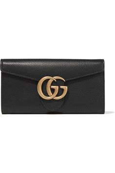 1f565f8518b9 GUCCI Gg Marmont Textured-Leather Continental Wallet.  gucci  bags  leather