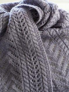 Easy as Pie Scarf pattern by Megan Delorme 2019 Really why NOT mix up easy pretty cable patterns to make a lovely shawl? Mindless knitting at it's best! The post Easy as Pie Scarf pattern by Megan Delorme 2019 appeared first on Scarves Diy. Gilet Crochet, Knitted Shawls, Knit Or Crochet, Crochet Scarves, Lace Knitting, Knitting Stitches, Knitting Patterns, Crochet Patterns, Knitting Scarves