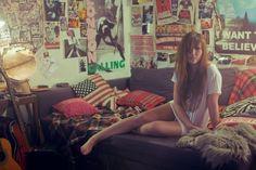 Punk kid scene alternative amazing girl teen decor room