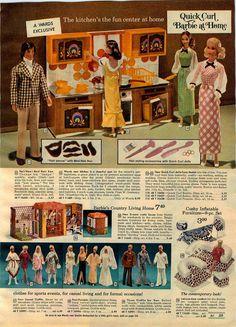 1973 Advertisement 4 PG Barbie Doll Jet Malibu Jeep camper Ken Quick Curl | eBay