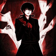 The Black Reaper  (I'm a bit late, but… Happy Birthday Kaneki and Arima!! C: )