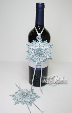 LW Designs: Sparkling Festive Flurry Ornaments