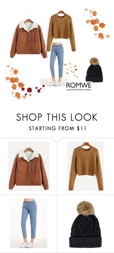 """Romwe 38"" by zerina913 ❤ liked on Polyvore featuring romwe"