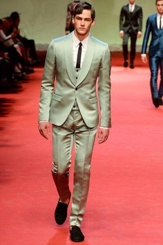 Shawl Lapel  Dolce & Gabbana | Spring 2015 Menswear Collection | Style.com