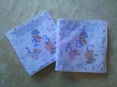 PURPLE SAGE ORIGINALS: Baby's First Cloth Book ~ Peter Rabbit and Friends...