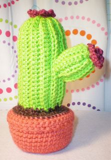 cactus-- 4 different, free patterns - more plants you don't have to water!