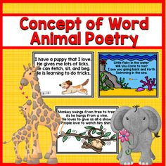 This bundle is a bargain at $15.00. It includes 28 original poems in page form, book form, and on sentence strips. Each comes with a word list too for print matching. Each letter of the alphabet includes one animal poem with two letters having two options each. Print a copy of each for a great end of the year keepsake for your kids to read all summer.
