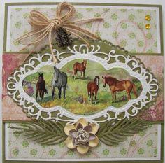 paarden made by  jannie