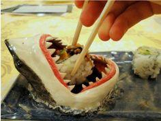 Shut up and take my money! Shark sushi plate!