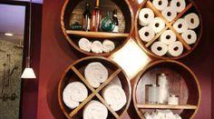 Bathroom DIY Storage