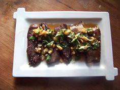 Langue à la plancha sauce thaï - Beef tongue (silly google translate) @ChristopheCertain