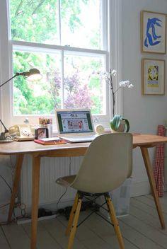 eames home office :) Home Office Space, Home Office Design, Home Interior Design, Office Decor, Interior And Exterior, House Design, Office Designs, Office Ideas, Eames