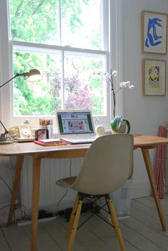 I don't use desks much, but I would if it were in front of a window!