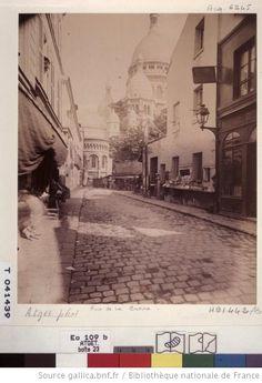 Rue du Chevalier de la Barre - Montmartre - 1900 - Eugène Atget