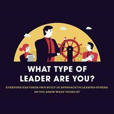 What Type of Leader are you? #Infographic #slide #leader #leadership #entrepreneur #business #startup #businessmen