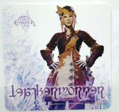 Final Fantasy XIV Leather Worker Coaster Eorzea Cafe Square Enix Game F/S