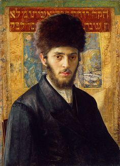 Credit: Tate, London 2013 Isidore Kaufmann (1854-1921), Young Rabbi from N, about 1910