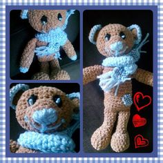 Crochet little bear
