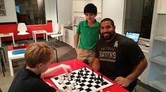 Urschel has teamed up with Penn State graduate Jim Trexler, director of the Mathnasium of Roland Park, on a new scholarship program that will award six-month scholarships to area high school students in Baltimore. Penn State Alumni, Roland Park, Six Month, Science Student, High School Students, Programming, Christmas Sweaters, Math, Create