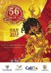 Afiche de la Feria de Cali 2013 edición 56. Santiago de Cali Colombia