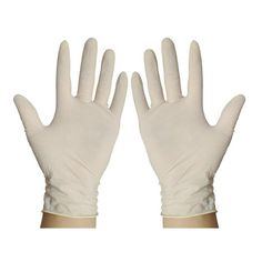 1 pair Work Protection Latex Disposable Gloves 23cm large