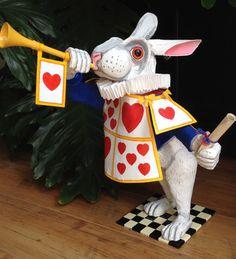 White Rabbit Alice in Wonderland. Party by RichardsBespokeArt