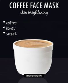 DIY EYE CREAM FOR DARK CIRCLES – Coffee is naturally full of antioxidants and caffeine which assist the skin's ability to heal, restore, firm and tighten. READ MORE >> COFFEE FACE WASH –Coffee removes the upper, dead layer of skin, and gives a healthy and instant glow. The anti oxidant properties in coffee will boost …