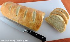 For the Love of Cooking » Roasted Garlic French Bread