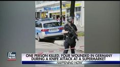Hamburg supermarket knife attack leaves 1 dead, German police say | Fox News