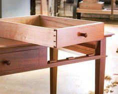 Ah! E se falando em madeira...: A arte de fazer gavetas