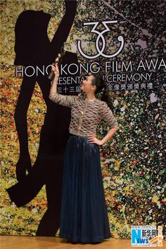 The 33rd Hong Kong Film Award finished successfully in ablaze and amusing atmosphere in Hong Kong, China, April 13, 2014. The team of film 'The Grandmaster' celebrated their big success at the Awards. The Kung Fu film bagged 12 trophies, including Best Actress (Zhang Ziyi), Best Director (Wong Kar-wai) and Best Supporting Actor (Max Zhang). It also took the leading role in terms of production by bagging Best Art Direction, Best Film Editing, Best Screenplay awards.