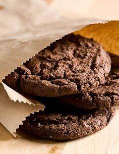 Chocolate Oatmeal Cookies - This Lovely Place with Charlotte Siems