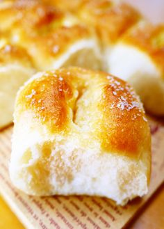 ☆バターを包まない塩パン!塩ちぎりパン☆ by ほっこり~の [クックパッド] 簡単おいしいみんなのレシピが228万品